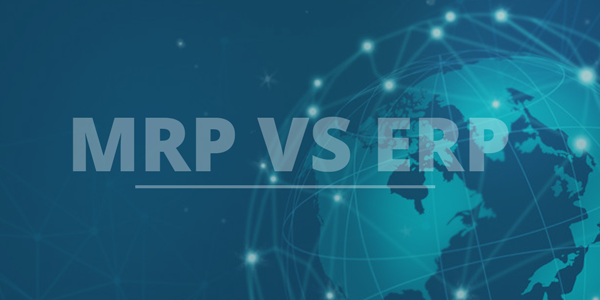 DIFFERENCES BETWEEN MRP AND ERP