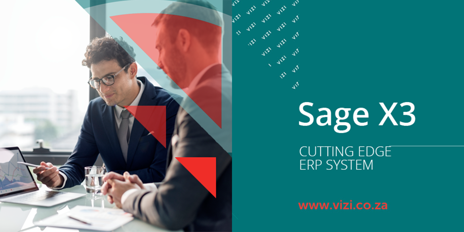 TAKE CONTROL OF YOUR BUSINESS WITH SAGE X3