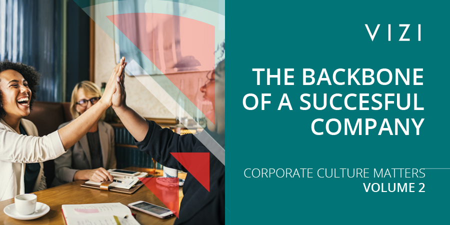 THE BACKBONE OF A SUCCESSFUL COMPANY – CORPORATE CULTURE MATTERS (2)